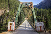 truss bridge - road bridge - bhagirathi valley (india), bhagirathi valley, forest, infrastructure, jadh ganga bridge, metal, mountains, road, single lane, truss bridge, vanishing point
