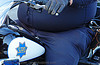 fat cop on motorcycle, blue, fat, harley davidson, jelly belly, law enforcement, motor cop, motor officer, motorbike, motorcycle police, motorcycle unit, overweight, police officer, police uniforms, potbelly, san francisco police department, sfpd, street