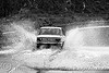 lada - car splashing water on road (bulgaria), car, flooded, lada, puddle, road, splashing, water, българия