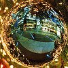 christmas bauble, berlin, christbaumkugel, christmas ball, christmas bauble, christmas decoration, christmas ornament, potsdamer platz, reflection, weihnachten
