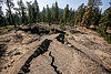 cracked lava flow, basalt, lava beds, rock formation, shasta-trinity national forest, stone, volcanic