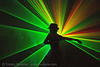 laser show, backlight, fedora hat, gangster hat, green, laser lightshow, laser show, lasers, nightclub, rave lights, rave party, ravers, shadows, silhouettes, underground party, warehouse party