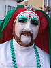 sister mary juanita high (the sisters of perpetual indulgence, san francisco) - christmas makeup