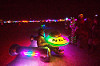 personal USS enterprise star-ship - burning man 2015, art, burning man, glowing, ncc-1701, night of the burn, segway, sitting, star trek, starship, uss enterprise