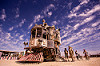 neverwas haul - burning man 2015, art car, burning man, clouds, neverwas haul, steampunk, victorian