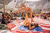 acro-yoga stretching - burning man 2015, acro-yoga, bending backward, burning man, center camp, jordan, stretching, woman