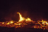 fire and embers - burning man 2015, burning man, fire, flames, night of the burn