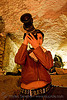 alyssa with video camera - catacombes de paris - catacombs of paris (off-limit area), alyssa, androgynous, camcorder, candles, catacombs of paris, cataphile, cave, new year's eve 2008, people, shooting, underground quarry, video camera, woman