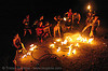 fire artists (bomtribe) - san francisco, fire dancer, fire dancing, fire hula hoop, fire performer, fire spinning, flames, hula hooping, hula hoops, night, spinning fire