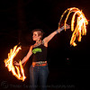 fire fans (san francisco) - fire dancer - leah, fire dancer, fire dancing, fire fans, fire performer, fire spinning, flames, leah, long exposure, night, spinning fire, tattooed, tattoos, woman