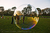giant soap bubble - golden gate park (san francisco), golden gate park, soap bubble