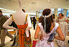 brides of march (san francisco), brides of march, festival, mannequin, store dummy, wedding