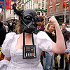 brides of march (san francisco), brides of march, darth vader, festival, starwars, wedding dress, white