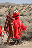 rave party in the desert, desert party, elmo, psy trance, rave party, red