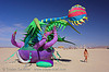venus eye trap - burning-man 2006, art installation, burning man, inflatable art, luke egan, pete hamilton, venus eye trap