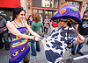 milking the cow - how weird street faire (san francisco)