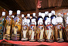snake wine - cobra snakes in lao-lao bottles (rice alcohol) - laos