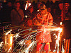 molten metal sparks - foundry, crucible, fire, foundry, molten metal, sparks