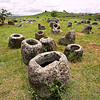 plain of jars (laos), archaeology, giant, phonsavan, plain of jars, stone jars