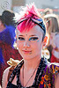 girl with pink mohawk - draya (san francisco)