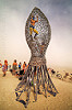 giant jellyfish sculpture - burning man 2016, art installation, burning man, giant jellyfish, jellyfish sculpture, unidentified art