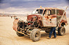rusty truck - burning man 2016, art car, burning man, rusted, truck, unidentified art