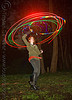 hulahoop with photon LED lights, full moon party, glowing, golden gate park, hooper, hula hoop, hula hooping, led hoop, led hulahoop, led lights, led-light, light hoop, long exposure, microlights, night, phoenix, rave lights, spinning, woman