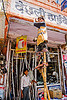 boy begging on stilts - jaipur (india)