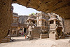 kailash monolithic hindu temple - ellora caves (india)