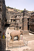 kailash temple - elephant - ellora caves (india)