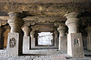 underground hindu and buddhist temples - ellora caves (india)