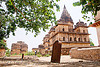 cenotaph ruins in orchha