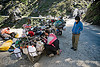 motorcycles - road to rohtang pass - manali to leh road (india)