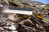 BEML BD80 bulldozer - manali to leh road (india)