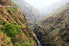 steep canyon - road to ani - near jalori pass (india)
