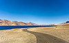 pangong lake - road