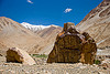 tangtse gompa (monastery) - road to pangong lake - ladakh (india)