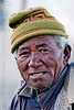 old farmer - pangong lake - ladakh (india)