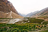 drass river - drass valley - leh to srinagar road - kashmir