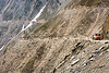 zojila pass - drass valley - leh to srinagar road - kashmir