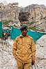 indian soldier guarding amarnath cave - amarnath yatra (pilgrimage) - kashmir