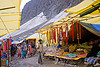 souvenirs shops in tent village - amarnath yatra (pilgrimage) - kashmir