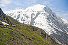 trail and mountain - amarnath yatra (pilgrimage) - kashmir