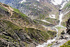 view of the trail - amarnath yatra (pilgrimage) - kashmir