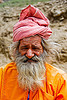 sadhu (hindu holy man) - amarnath yatra (pilgrimage) - kashmir, amarnath yatra, baba, hindu holy man, hinduism, kashmir, mountain trail, mountains, old man, pilgrim, pilgrimage, sadhu, trekking, white beard, yatris, अमरनाथ गुफा