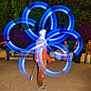 spinning LED light poi - flowlights (san francisco), fire dancer, fire dancing, fire performer, fire spinning, flowlights, flowtoys, glowing, led lights, led poi, led staff, light poi, light staffs, long exposure, nicky evers, night, spinning fire