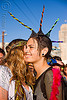 spiky mohawk, festival, love fest, lovevolution, mohawk hair, people, spikes, spiky, women, zoey