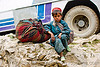young boy - child labor - amarnath yatra (pilgrimage) - kashmir