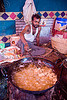 deep-frying - langar (free community kitchen) - amarnath yatra (pilgrimage) - kashmir