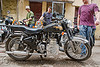 royal enfield taurus motorcycle with diesel engine